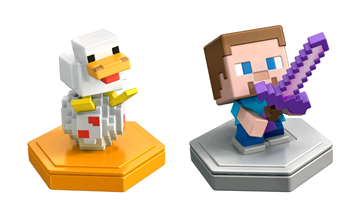 Minecraft - Boost Mini Figurer 2-Pakke - Steve & And (GKT42)