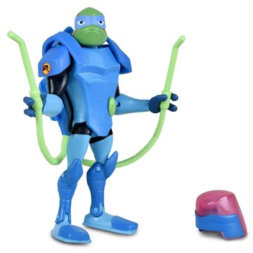 Rise of the Teenage Mutant Ninja Turtles - Battle Shell Action Figure - Bug Bustin' Leo (80831)