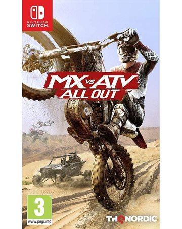 MX vs ATV: All out - Nintendo Switch