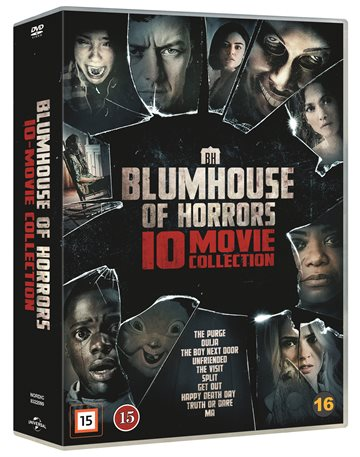 ​Blumhouse Of Horrors – 10 Movie Coll  - DVD​