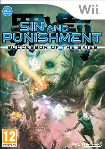 Sin & Punishment 2 Successor to the Skies - Wii