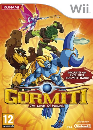 Gormiti: The Lords of Nature! (With Exclusive Figure) - Wii