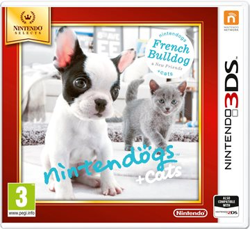 Nintendogs and Cats 3D: French Bulldog (Select) - Nintendo 3DS