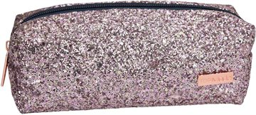 Top Model - Tube Penalhus med Glitter -Pink