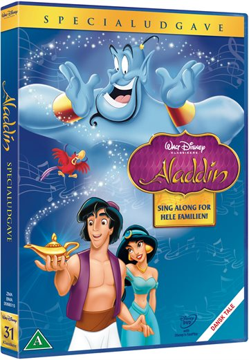 Aladdin - Masterpiece Collection Disney classic #31 - DVD