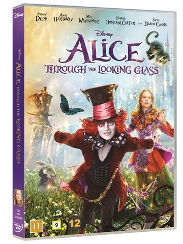 Alice i Eventyrland: Bag spejlet/Alice through the looking glass- DVD