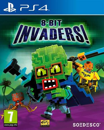 8-Bit Invaders - PlayStation 4