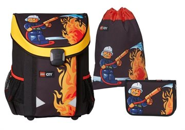 LEGO - Easy School Bag Set - CITY - Fire (16071)