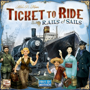 Ticket To Ride Rails & Sails (Dansk)