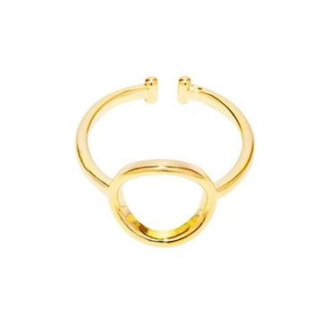 Everneed Mia - Cirkel ring guld