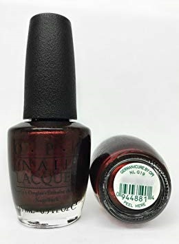 "O.P.I Nail lacquer Neglelak ""German-Icure by opi"""