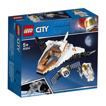 LEGO City Space Port 60224 Satellitservicemission