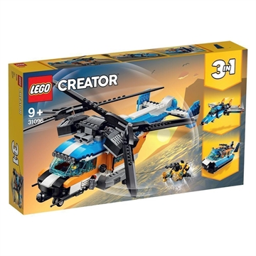 LEGO Creator 31096 Helikopter med to rotorer