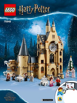 LEGO Harry Potter TM 75948 Hogwarts™-klokketårn