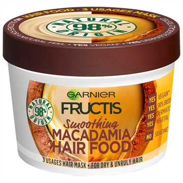 Garnier Fructis Hair Food Macadamia 390ml