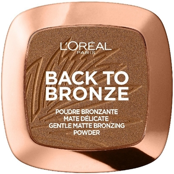 L' Oreal  Back To Bronze Matte Bronzing Powder 02 Sunkiss