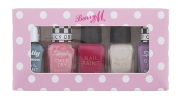 Barry M Nail Polish 5' Set Assorted
