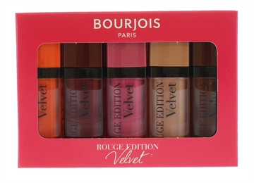 Bourjois Rouge Velvet Lip Stick 5Pc