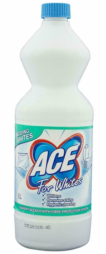 Ace 1L Laundry Bleach For Whites