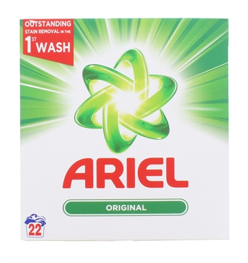 Ariel 1.43Kg Powder Bio 22 Wash