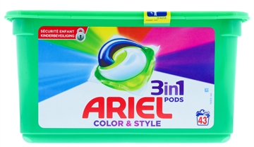 Ariel 3In1 Pods Color & Style 43'