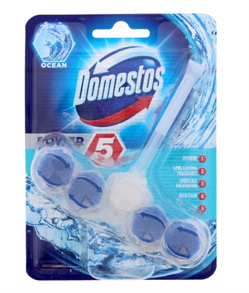 Domestos 55G Power Toilet Block Ocean