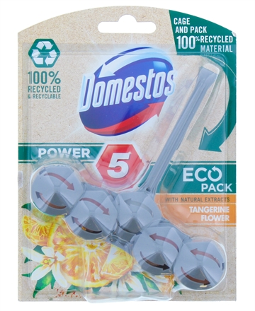 Domestos Eco 55G Power Toilet Block Tangerine Flower