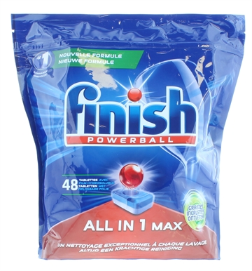Finish All In One Tabs Degreaser 48S Lab
