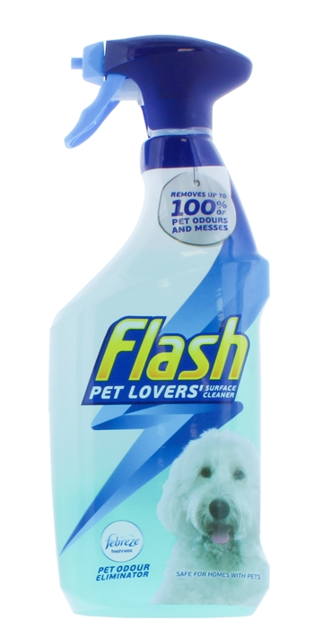 Flash 750ml Surface Cleaner Pet Lovers