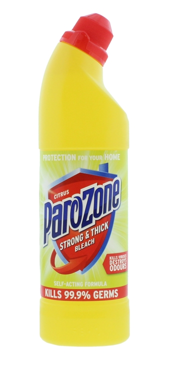 Parozone 750ml Strongest Bleach Citrus