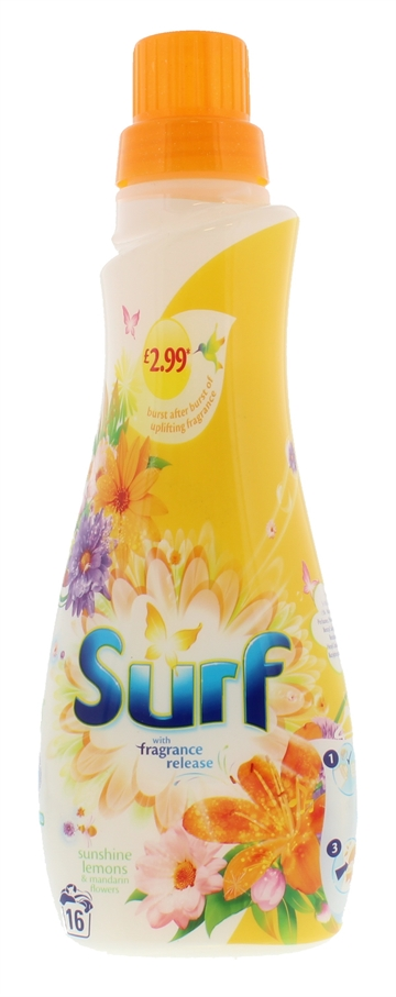 Surf 560ml Liquid Sunshine 16 Wash