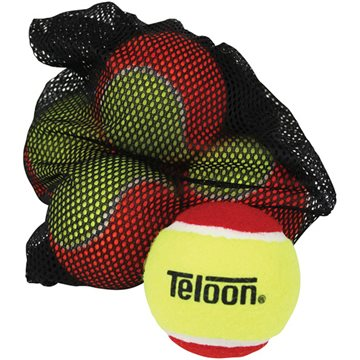 Teloon Soft Slowtennis ball 6/