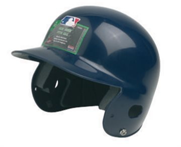Batting helmet.