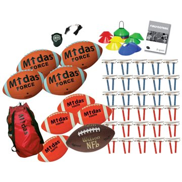 Midas/Wilson Flagfootball pakke XL
