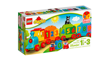 LEGO Duplo My First 10847 Tog Med Tal