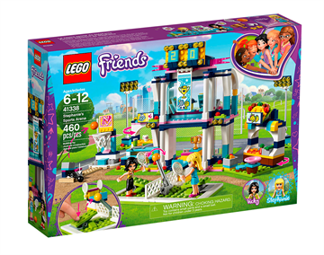 LEGO Friends 41338 Stephanies Sportsarena