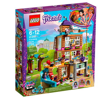 LEGO Friends 41340 Venskabshus