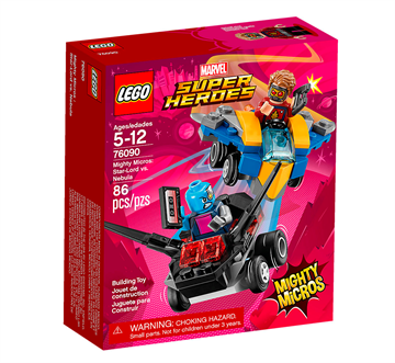 LEGO Marvel Super Heroes 76090 Mighty Micros - Star-Lord vs. Nebula