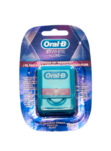 Oral-B 3D tandtråd White Luxe 35 m