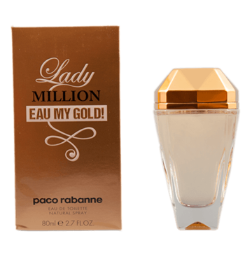 Paco Rabanne Lady Million Eau my Gold eau de toilette 80ml