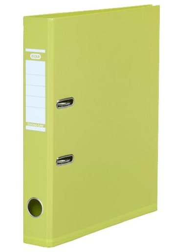 Brevordner A4 Elba Lime 50Mm Strong-Line Pvc-Fri