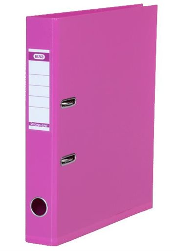 Brevordner A4 Elba Pink 50Mm Strong-Line Pvc-Fri