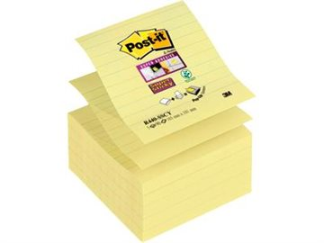 Post-It Super Sticky Z-Notes 101X101 Mm Canary Yellow