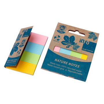 Index Page Markers Neon Papir Indexfaner (4 Farver)
