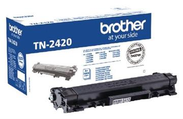 Brother TN-2420 Sort Lasertoner, 3.000 sider