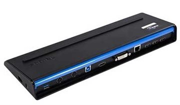 Targus Usb 3.0 Docking Station Dual, W/Integrated Charging
