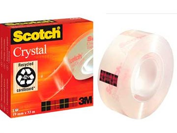 Tape Scotch Crystal 19Mmx33M
