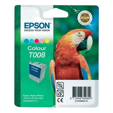 Epson T008 C13T00840110 C/M/Y/LC/LM Multipack, 220 sider