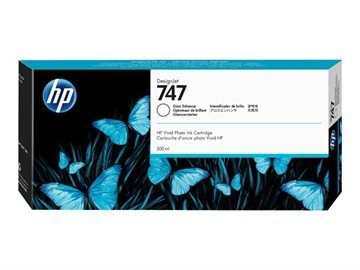 HP 747 P2V87A Gloss Enhancer Tintenpatrone, 300 ml