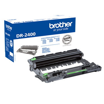 Brother DR-2400 Sort Tromle, 12.000 sider